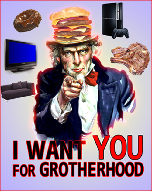 Rejoindre la Grotherhood